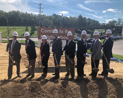 First Exchange Bank South Fairmont Groundbreaking