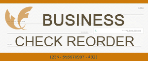 Reorder Business Checks